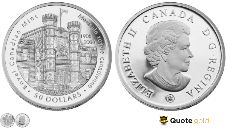 Royal Canadian Mint - 100 years
